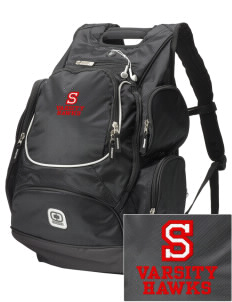 Stacy Middle School Hawks  Embroidered OGIO Bounty Hunter Backpack
