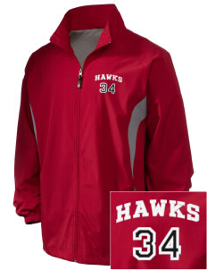 Stacy Middle School Hawks Embroidered Holloway Men's Full-Zip Jacket