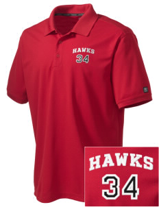 Stacy Middle School Hawks Embroidered OGIO Men's Caliber Polo