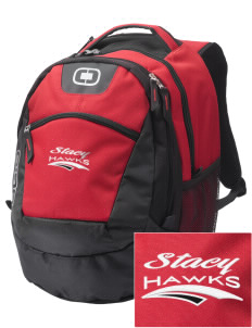 Stacy Middle School Hawks Embroidered OGIO Rogue Backpack