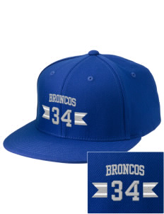 Rancho Bernardo High School Broncos Embroidered Diamond Series Fitted Cap