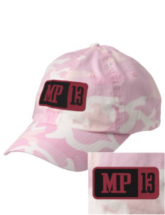 Murdock Portal Elementary School Penguins Embroidered Camouflage Cotton Cap