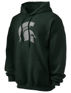 Skyline High School Spartans Ultra Blend 50/50 Hooded Sweatshirt