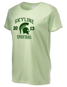 Skyline High School Spartans Women's 6.1 oz Ultra Cotton T-Shirt