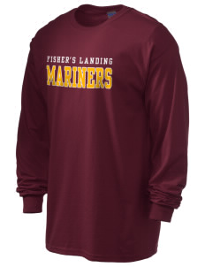 Fisher's Landing Elementary School Mariners 6.1 oz Ultra Cotton Long-Sleeve T-Shirt