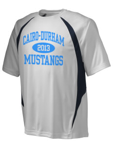 Cairo-Durham Middle School Mustangs Champion Men's Double Dry Elevation T-Shirt