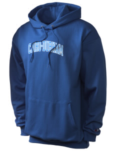 Cairo-Durham Middle School Mustangs Champion Men's Hooded Sweatshirt
