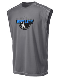 Cairo-Durham Middle School Mustangs Champion Men's 4.1 oz Double Dry Odor Resistance Muscle T-Shirt