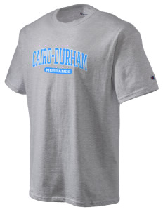 Cairo-Durham Middle School Mustangs Champion Men's Tagless T-Shirt