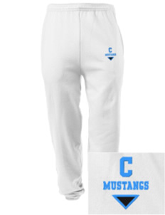 Cairo-Durham Middle School Mustangs Embroidered Men's Sweatpants with Pockets