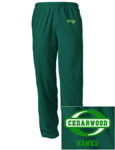 Cedarwood Elementary School Hawks Embroidered Holloway Men's Flash Warmup Pants
