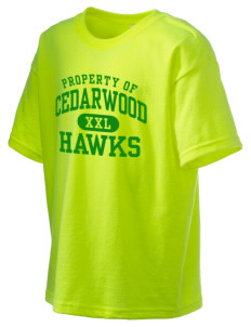Cedarwood Elementary School Hawks Kid's 6.1 oz Ultra Cotton T-Shirt