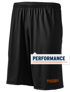 "Illini Bluffs Elementary School Tigers Holloway Men's Performance Shorts, 9"" Inseam"