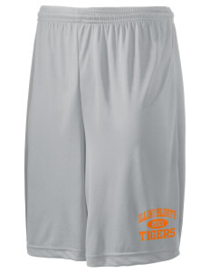 "Illini Bluffs Elementary School Tigers Men's Competitor Short, 9"" Inseam"