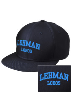 Lehman High School Lobos  Embroidered New Era Flat Bill Snapback Cap