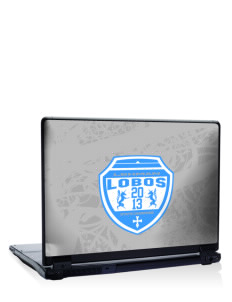 "Lehman High School Lobos 17"" Laptop Skin"