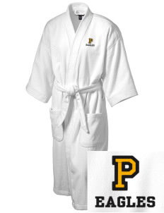 Paradise Intermediate School Eagles Embroidered Terry Velour Robe
