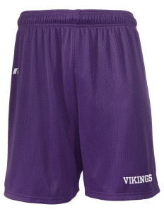 "Sierra Vista Middle School Vikings  Russell Men's Mesh Shorts, 7"" Inseam"