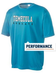 Temecula Middle School Bobcats Men's Competitor Performance T-Shirt