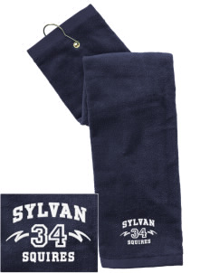 Sylvan Middle School Squires Embroidered Hand Towel with Grommet