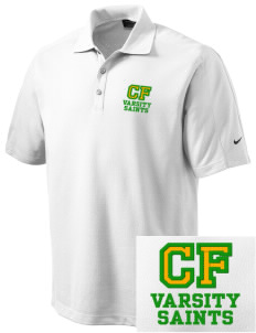 Clyde Fischer Middle School Saints Embroidered Nike Men's Dri-FIT Pique II Golf Polo