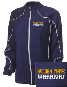 Golden State Middle School Warriors Embroidered Russell Women's Full Zip Jacket