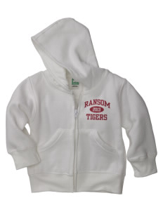 Ransom Middle School Tigers Baby Full Zip Hoodie