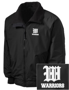 Wilson Junior High School Warriors Embroidered Tall Men's Challenger Jacket
