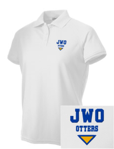 J W Oakley Primary School Otters Embroidered Women's Technical Performance Polo