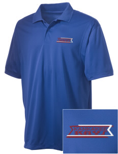 Kankakee Junior High School Warriors Embroidered Men's Micro Pique Polo