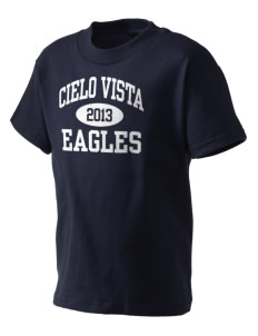 Cielo Vista Elementary School Eagles Kid's T-Shirt