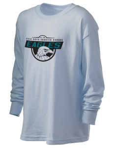 Cielo Vista Elementary School Eagles Kid's 6.1 oz Long Sleeve Ultra Cotton T-Shirt