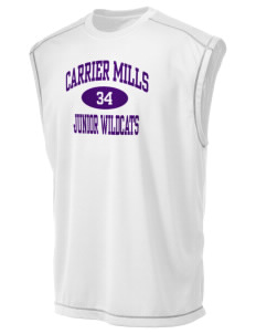 Carrier Mills Elementary School Junior Wildcats Champion Men's 4.1 oz Double Dry Odor Resistance Muscle T-Shirt