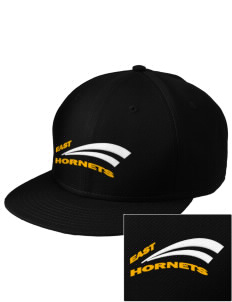 East Middle School Hornets  Embroidered New Era Flat Bill Snapback Cap