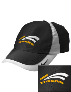 Sims Junior High School Tigers Embroidered Nike Golf Colorblock Cap
