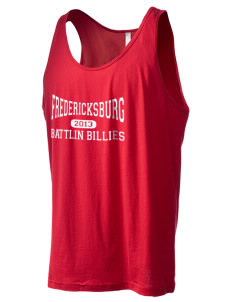 Fredericksburg Middle School Battlin Billies Men's Jersey Tank