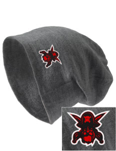 Hartman Middle School Pirates Embroidered Slouch Beanie