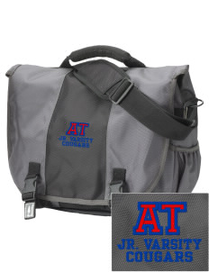 Albert Thomas Middle School Cougars  Embroidered Montezuma Messenger Bag