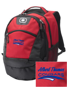 Albert Thomas Middle School Cougars Embroidered OGIO Rogue Backpack
