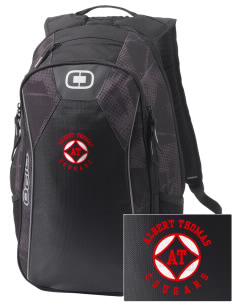Albert Thomas Middle School Cougars Embroidered OGIO Marshall Backpack