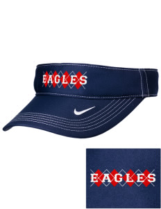 Eagle View Elementary School Eagles Embroidered Nike Golf Dri-Fit Swoosh Visor