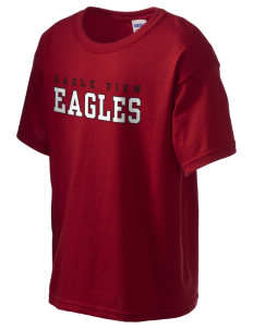 Eagle View Elementary School Eagles Kid's 6.1 oz Ultra Cotton T-Shirt