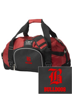 Brier Terrace Middle School Bulldogs  Embroidered OGIO Big Dome Duffel Bag