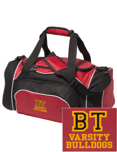 Brier Terrace Middle School Bulldogs Embroidered Holloway Duffel Bag