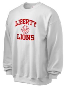 Liberty High School Lions Ultra Blend 50/50 Crewneck Sweatshirt