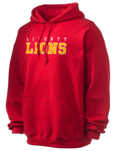 Liberty High School Lions Ultra Blend 50/50 Hooded Sweatshirt