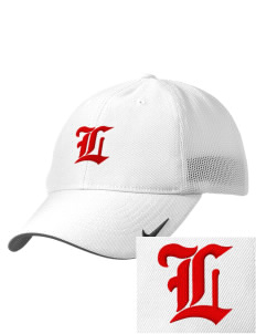 Liberty High School Lions Embroidered Nike Golf Mesh Back Cap