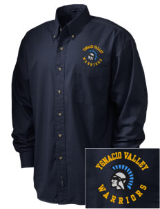 Ygnacio Valley High School Warriors Embroidered Men's Twill Shirt
