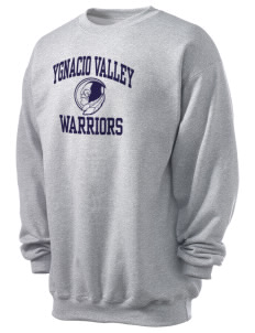 Ygnacio Valley High School Warriors Men's 7.8 oz Lightweight Crewneck Sweatshirt