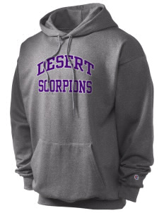 Desert High School Scorpions Champion Men's Hooded Sweatshirt
